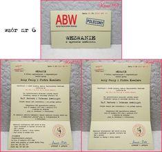 wezwania 6 Event Ticket, Paper