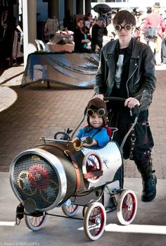 Steampunk baby carriage... WIN! << Agreed! That is awesome! http://www.mybigdaycompany.com/signature-events.html