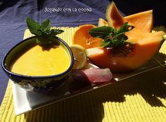 Sopa fría de melón Cantaloupe inspirada en la receta de Samantha Vallejo-Najera