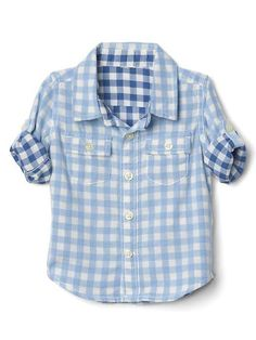 NWT BABY GAP BOY/'S SHOOTING STARS EASTER PLAID BUTTON-UP BODYSUIT 100/% COTTON