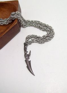 Final Fantasy necklace Mens necklace FF13 by Eternalelfcreations, $36.00