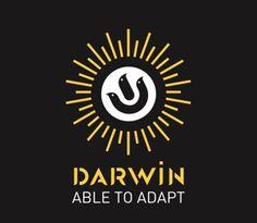 logo darwin Darwin, Tv, Lululemon Logo, Company Logo, Logos, Chart, Television Set, Logo, Television