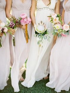 like the different & simple bouquets not necessarily crazy about the flowers but I like how simple it looks