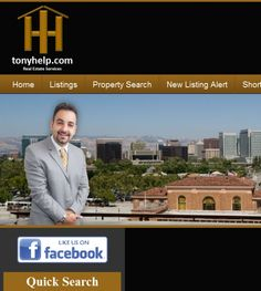Tony Sayadlocated at 675 N 1st, Ste 690, San Jose CA 95122 offers Real Estate Services, Real Estate Agents. Be sure to follow us directly on our social profiles below.