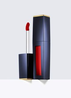 Pure Color Envy, Liquid Lip Potion -  Innovative liquid lipstick plumps with continuous moisture. Saturates with high-impact color, so lips look pouty, sculpted, sexy.  Glides on in one swipe of bold liquid color that lasts up to 8 hours.