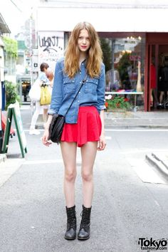 Ivy Matheson in Harajuku
