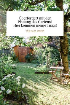 Von 0 auf Garten – meine Tipps für die Gartenplanung Love Garden, Home And Garden, Luxury Garden Furniture, Soil Improvement, Small Backyard Landscaping, Garden Planning, Garden Paths, Vegetable Garden, Garden Design