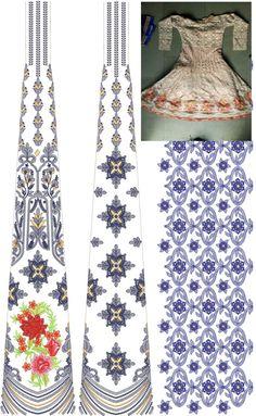 Latest Anarkali Suit designs / Anarkali Dress / readymade Download Embroidery Design From EMBCART Mobile application