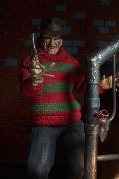 Retro-Style Freddy Krueger Figure
