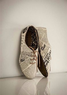 Newspaper Shoes