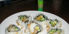 Homemade Sushi Crunch Rolls. This is my favorite roll to order!