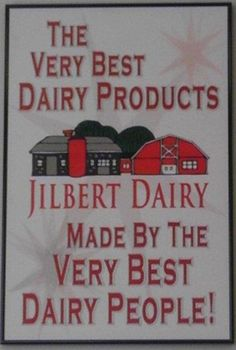 Jilbert Dairy ~ Marquette, MI - wish I could get it out in cali !! thats how good it is