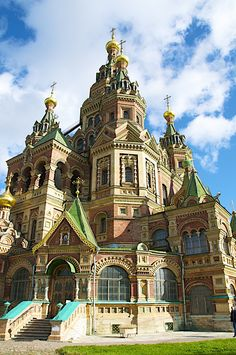 St Petersburg Russia - The church of Peter and Paul