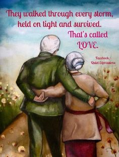 """Claudia Tremblay gift idea wedding anniversary """"our story"""" Vieux Couples, Old Couples, Happy Couples, Claudia Tremblay, Growing Old Together, Illustration, Parent Gifts, Alter, Fine Art Paper"""
