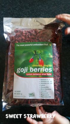 Nuova Collaborazione con Bacche di Goji! http://pattysweetstrawberry.blogspot.it/2014/11/bacche-di-goji.html