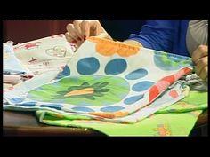 Tornazsák és ovis zsák készítése maradék anyagokból - Promontor Televízió