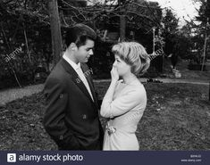 Download this stock image: Schneider, Romy, 23.9.1938 - 29.5.1982, German actress, with her brother Wolfi, 1959, (birth name: Rosemarie Magdalena Albach Re - b2hkjd from Alamy's library of millions of high resolution stock photos, illustrations and vectors.