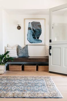Design Welcoming Cozy Entryway | Apartment Therapy