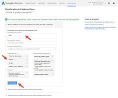 guia para hacer un blog paso a paso analisis palabras clave keywordplanner