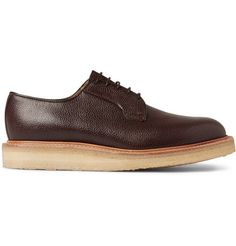 Mark McNairy Crepe-Sole Leather Derby Shoes | MR PORTER