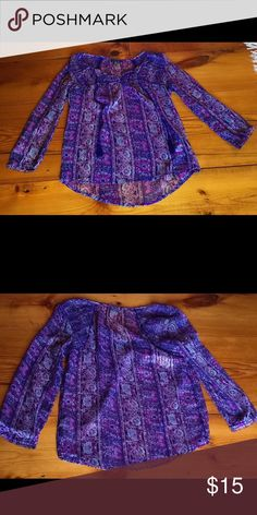 AMERICAN EAGLE purple top!!!! NO TRADES❌ PRICE IS FINAL. American Eagle Outfitters Tops Blouses
