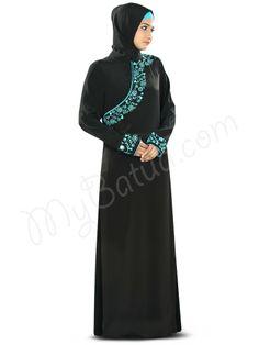 Buy now--> Whatsapp: +91-8826009522 (#Worldwide) MyBatua #Zeena #Abaya   Available in sizes XS to 7XL, lenth 50 to 66 inches.    Buy link : https://www.mybatua.com/catalogsearch/result/?q=Zeena+Abaya