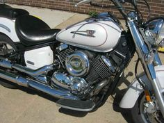 Used 2005 Yamaha V Star 1100 Classic Motorcycles For Sale in Iowa,IA. 2005 Yamaha V Star 1100 Classic, The V Star 1100 is simply one of the most pleasing-to-ride cruisers around. When you head down the road, all just seems to be right with the world. The comfortable layout lets you relax, leaving you to enjoy the road you're traveling. If that road calls for some performance, the big Yamaha has you covered as roll-on power is very good across the rev range and handling is light and precise…