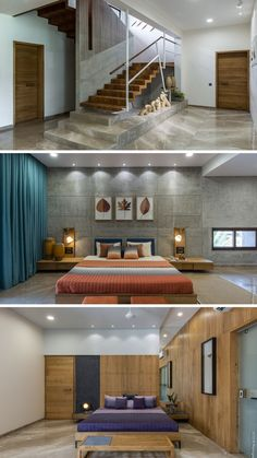New Apartment Interior Design Bedroom Beds Ideas Bedroom Bed Design, Bedroom Furniture Design, Modern Bedroom Design, Home Room Design, Home Design Plans, Modern House Design, Living Room Designs, Bedroom Decor, Bedroom Ideas