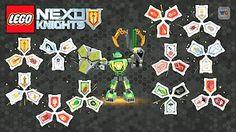 Additional 12 Nexo Power Shields | Nexo Knights Blind Bags Combo Set - Batch 2 - YouTube