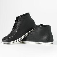 Fab.com | Women's Native Leather Black
