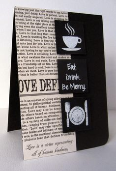 Card by Nonni featuring Vignette: Eat Drink Be Merry - November Stamp Release Blog Hop Day 2
