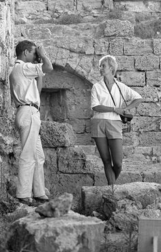 Paul Newman and Joanne Woodward (1959)