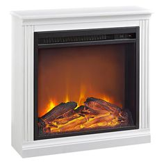 Christina Builtrite Fireplace Mantel In White Mantel Only