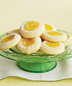 WEIGHT WATCHERS 1 Point Plus LEMON THUMBPRINT COOKIES | Cookie Recipes