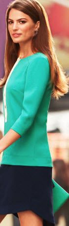ANN TAYLOR On Trend: NEW HUES...
