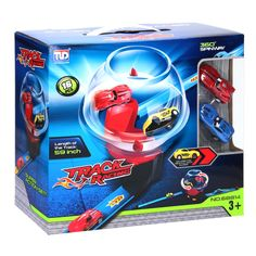 Pull Back Super Track Racebaan met 2 Auto's Track, Meet, Runway, Truck, Running, Track And Field