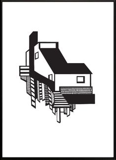 Kristina Dam Studio  Illustration : A House
