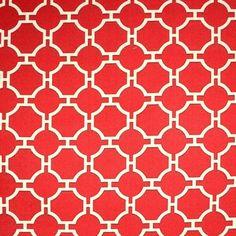 Swavelle-Kinder-Cherry-Red-Cream-Oriental-Trellis-Upholstery-Fabric