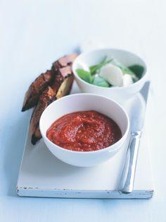 roasted capsicum and chilli dip