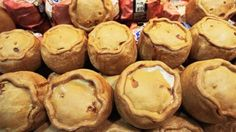 Awesome Tiny pies have been a favourite food in Britain since the Middle Ages – and have changed the English language with idi...   London 2