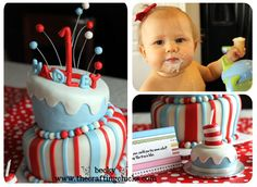 Dr. Seuss birthday party from @Becky James of @The Crafting Chicks.