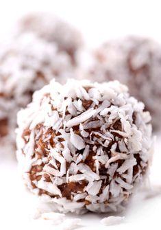 Coconut Cacao Balls (Raw Vegan Nut Free)