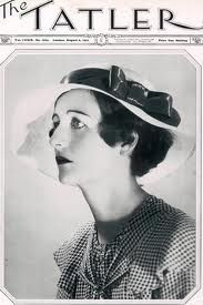 Nancy Mitford of the cover of The Tatler