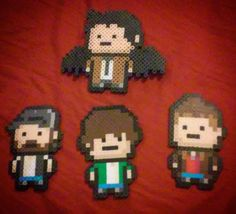 Supernatural perler beads by supernatural.loves