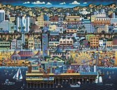 Dowdle Jigsaw Puzzles - Santa Monica