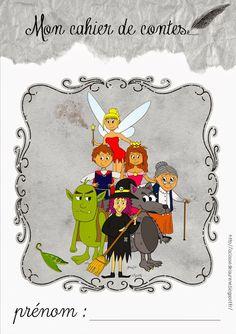 Le cahier de contes - les fiches contes - La classe de Laurène