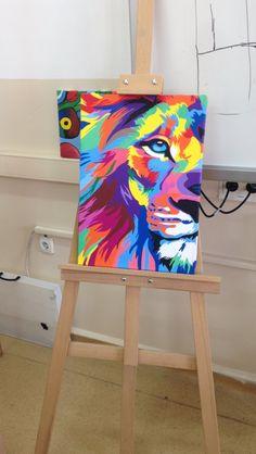#lion #canvas