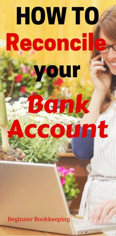 How to reconcile your bank account | for small business owners.