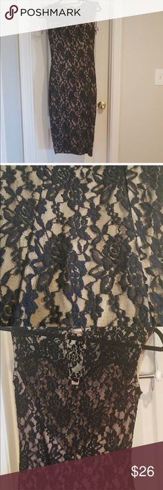 Hot Miami Styles Dress Cute lace hot Miami styles dress. Form fitting great for wedding or city date night Dresses Midi