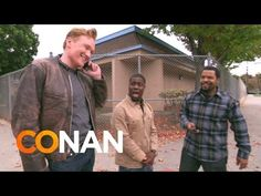 Ice Cube, Kevin Hart, and Conan Go on a Hilarious Lyft Car Ride